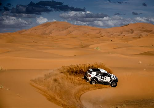 Mini Dakar is go 16g