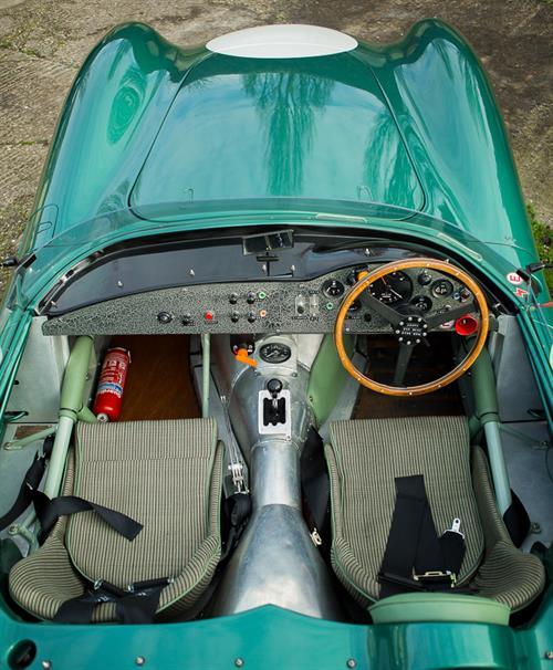 Evanta Aston Martin DBR1 Is On Its Way To Auction